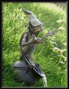 Bronze sculpture by David Goode. Would love it in my garden!