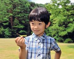 His Imperial Highness Prince Hisahito of Japan celebrates his 6th birthday 2012