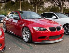 BMW E92 M3 Stanced Just Right | Flickr - Photo Sharing!