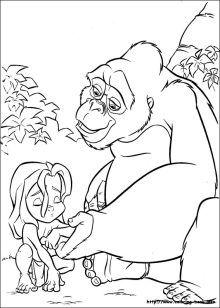 Free Disney Tarzan Printables, Coloring Pages, and Activities   SKGaleana