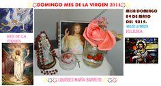 LA ROSA QUE ME REGALARON. MISA DOMINGO 04 DE MAYO DEL  2014.  MES DE LA VIRGEN IGLESIA. ҉҉҉ LOURDES MARÍA BARRETO ҉҉҉