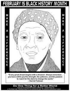 Free Printable Black History Worksheets   black history coloring ...