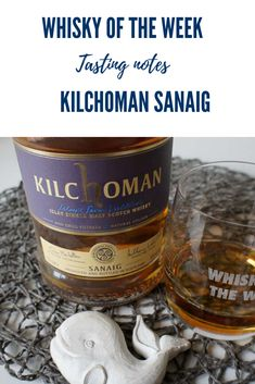Review and tasting notes for the Kilchoman Sanaig Single Malt Whisky Scottish Islands, Single Malt Whisky, Scotch Whisky, Distillery, Coffee Cans, Bourbon, Whiskey, Scotland, Tourism