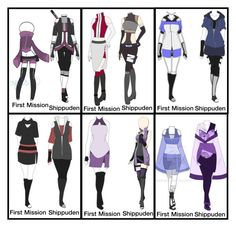 """""""Naruto OC Outfits"""" by grandmasfood ❤ liked on Polyvore featuring art More"""
