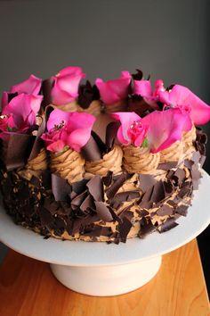 This looks like Heaven - Chocolate Tira Misu from Extraordinary Desserts in San Diego, CA