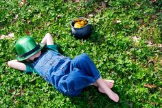 St. Patrick's Day party games, food and other fun for your kids.