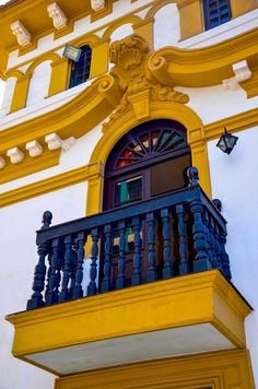 Maria's Balcony in Miraflores, Lima, Peru. Miraflores is a district of the Lima Province in Peru. Known for its shopping areas, gardens, flower-filled parks and beaches, it is one of the upscale districts that make up the city of Lima.