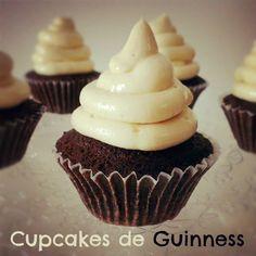 Sivila Happy Bakery : ♥ Cupcakes de Guinness!!