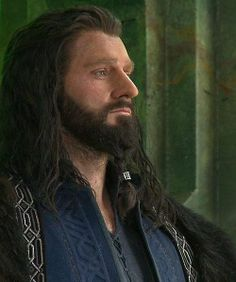 Not that he's not handsome right here, but I am SO glad they got rid of the ponytail in his beard! :P