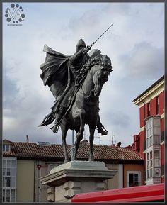 El Cid's monument at Burgos City / Monumento del Cid en Burgos capital, via Flickr.