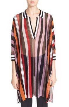MISSONI Stripe Knit Dolman Sleeve Top. #missoni #cloth #