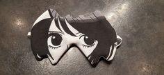 Masque de nuit incognito manga de Béatrice - patron gratuit masque de nuit Sacôtin
