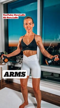 Full Body Workout Routine, Gym Workout Tips, Workout Challenge, Workout Videos, Workouts, Dumbbell Workout, Shoulder Workout, Fitness Inspiration, Fitness Tips