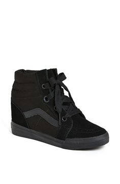 Vans 'Sk8 Hi' Wedge Sneaker (Women) available at #Nordstrom ... Need these too!