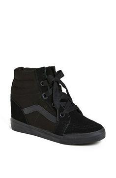 Vans 'Sk8 Hi' Wedge Sneaker (Women) available at #Nordstrom