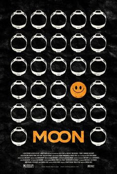 Moon - Incredible Series of Original Poster Art for Some of Our Favorite Movies! Minimal Movie Posters, Horror Movie Posters, Cinema Posters, Film Posters, Vintage Movies, Vintage Posters, Film Mythique, Alternative Movie Posters, Minimalist Poster
