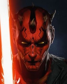 "In a galaxy far, far away... (@starwars.saga) on Instagram: ""Darth Maul – Star Wars fan art by Adnan Ali"