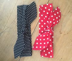 KYEbags handmade bags and accessories: Classic Rosie the Riveter style headbands now avai...