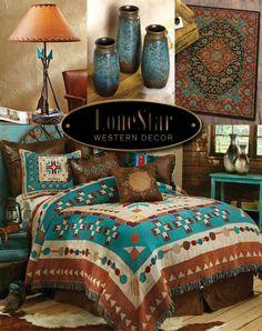 25 Southwestern Bedroom Design Ideas | Southwestern bedding ...