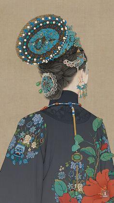 Anime Art, Art Painting, Character Art, Illustration, Chinese Culture, Fashion Illustration, Art Girl, Art, Chinese Art