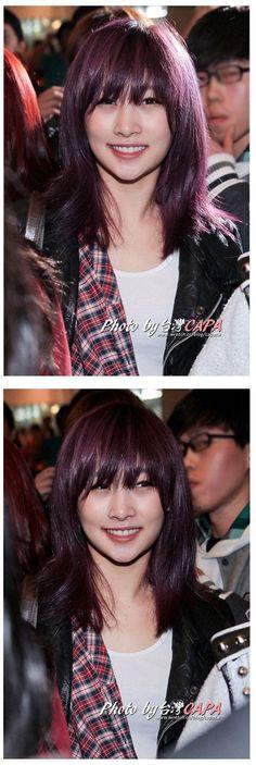 KARA- Jung Nicole ✿ . Purple hair