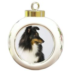 Sheltie Dog Christmas Holiday Ornament by Doggie of the Day, http://www.amazon.com/dp/B004MNABTG/ref=cm_sw_r_pi_dp_TvdLqb0MJ4HNF