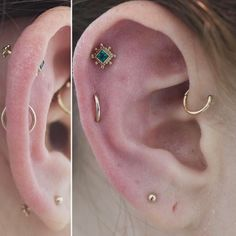 The Coolest Piercings New York Girls Are Getting Right Now #refinery29 http://www.refinery29.com/2017/06/156932/new-york-city-piercing-trends#slide-9