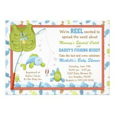 Adult Fishing Party Theme | For Details On How To Get Free Shipping On  These Invites · Diy ShowerBaby ...