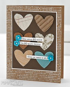 You Mean So Much Card by @Jennifer McGuire