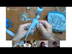 ADAM BEAN  Starting a sculpture in Cx5 - how to build up a basic form   6/9/13 - YouTube