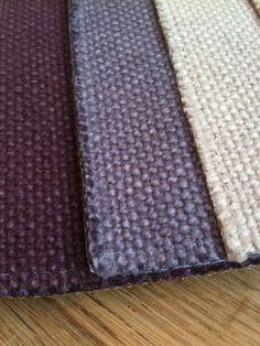 Lavendel en paars; linnen geschikt voor meubels en gordijnen, Viking Pure by Wind Exclusive Design.