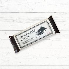 Harry Potter Dementor Relief Chocolate Bar by CrissyDesignCo