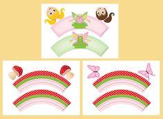 Seasonal Fairy Cupcake Wrappers