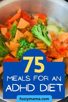 ADHD Diet for Kids | Wondering what to feed your ADHD kids to fuel their brains, feed their gut and ease their symptoms? These meals for an adhd diet are budget and kid friendly. There's enough variety to last you for a month! Real Food Recipes, Healthy Recipes, Adhd Diet, Healthy School Lunches, Dairy Free Diet, Fruit And Veg, Best Breakfast, Us Foods, Family Meals