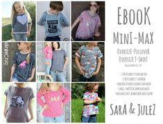 397545b4ff Ebook MINI-MAX Oversize Sweater / Oversize T-Shirt Gr. - Sewing instructions  at Makerist