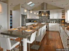 Идеи для создания прекрасного кухонного острова