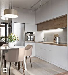 Home Interior Cocina .Home Interior Cocina Kitchen Room Design, Home Room Design, Kitchen Cabinet Design, Modern Kitchen Design, Home Decor Kitchen, Kitchen Living, Interior Design Kitchen, Kitchen Furniture, Home Kitchens