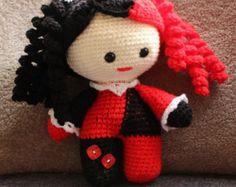 Big head baby dolls crochet. by TrippleRcreations on Etsy
