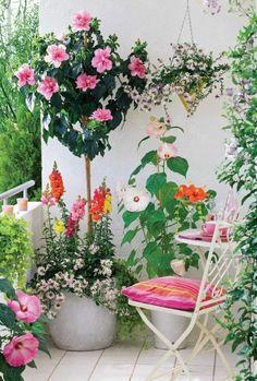 idee deco terrasse pour avoir un balcon fleuri