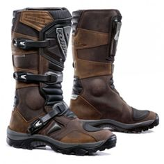 Forma Adventure Brown Motorcycle Boots