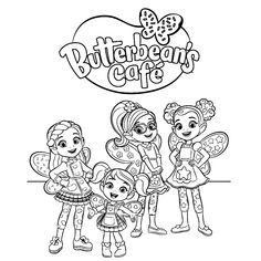 9 Best Butterbean's Cafe Coloring Pages Recommended By ...