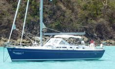 A Beneteau Oceanis 42CC cruising yacht