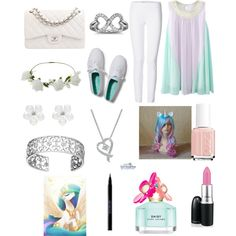 Princess celestia by alex-holly on Polyvore featuring Joseph, Keds, Chanel, Leo Diamond, Oasis, Miss Selfridge, Urban Decay, Marc Jacobs, Essie and My Little Pony