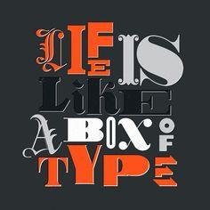 type lovers unite