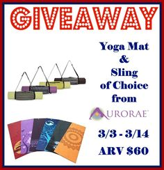 Mommy's Favorite Things: Aurorae Yoga Review & Giveaway