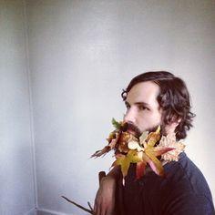 Honey of a Thousand Flowers - Journal - flower beards Moustache, Flower Beard, Flowers For Men, Beard Art, Mabon, Garden Accessories, Honey, Journal, Floral
