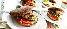 Hjemmelavet burger a la Liv og Magnus
