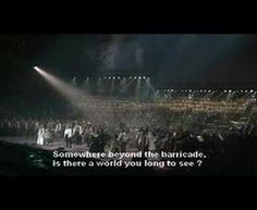 Les Miserables - Do You Hear the People Sing. Sounds l a good national anthem to me.