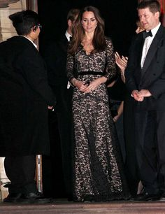 Kate Middleton's Best Dressed Looks | ELLE UK. Of course it's a Temperley dress.