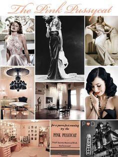 Glamour girls wedding inspiration board...